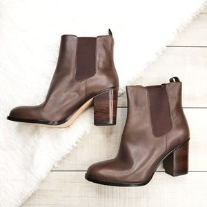COLE HAAN Brown Ankle Boots Size 8